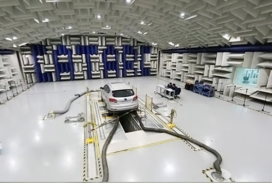 NIDEC CORPORATION Sound insulation test room